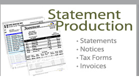 Statement and Invoice Production